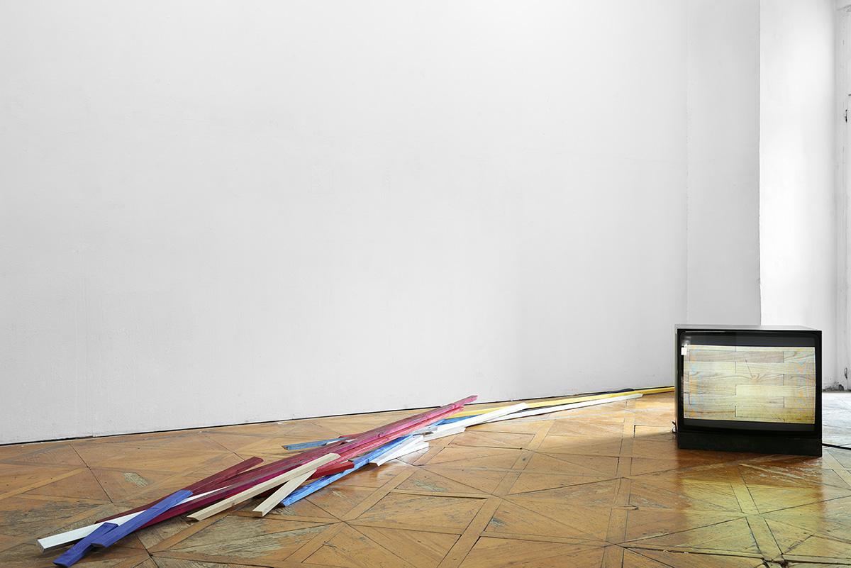 Ausstellung, Linz, BB15, Offspace, Kunstverein,Pio Rahner, 2017, Videoloop, Scheuerleisten