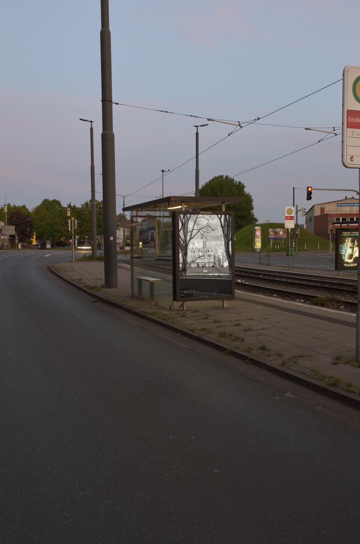 Pio Rahner, citylight, wall decaux, 2020, Kunst im öffentlichen Raum, Bremen, Folkwang, kölmel, muller, behrens, pluta, gastelum, michel, wolf, engelke, braun