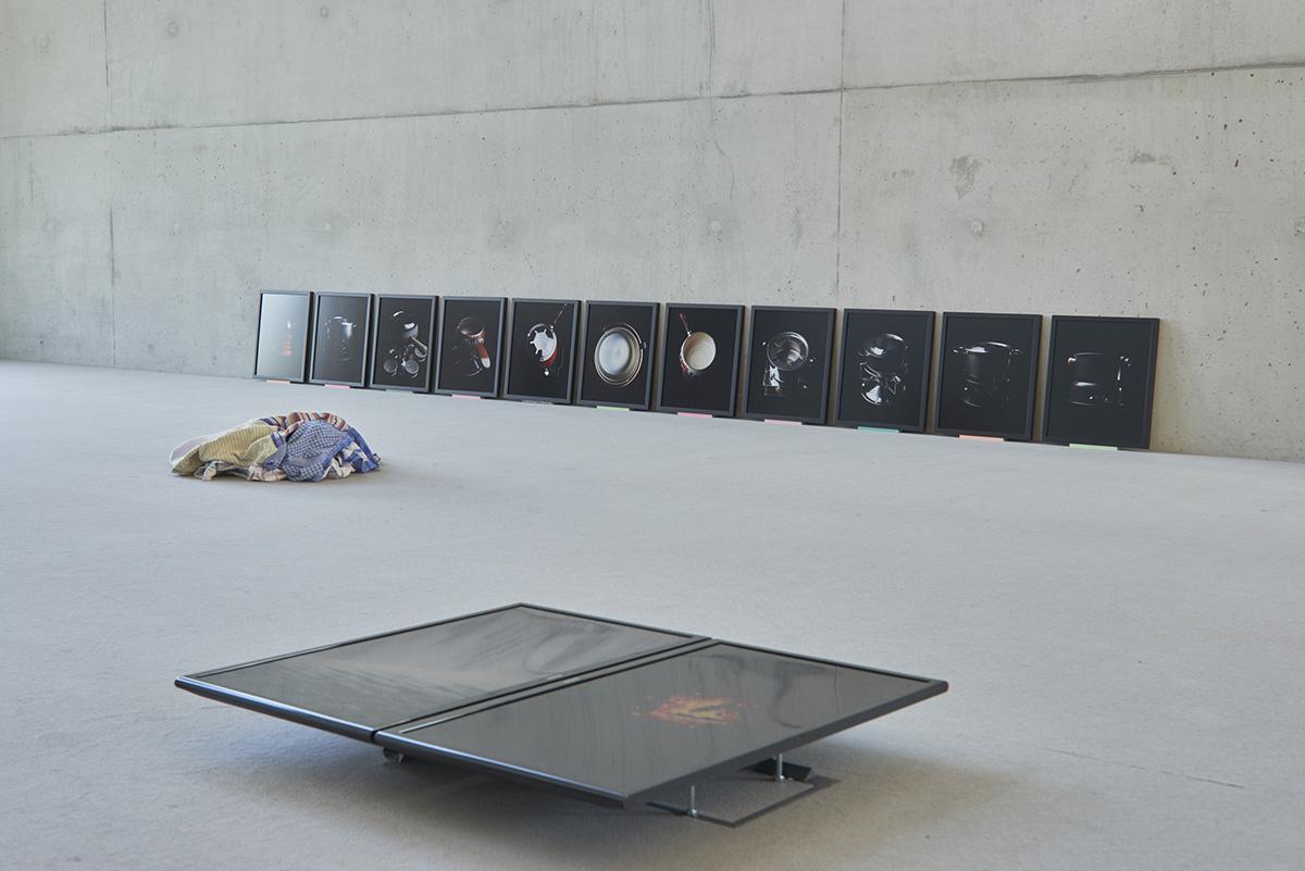 Pio Rahner, Kreislauf, kücke, oikos 2015, Zweieinhalb Ziegen im Gefrierschrank, Essen, Folkwang, Sanaa