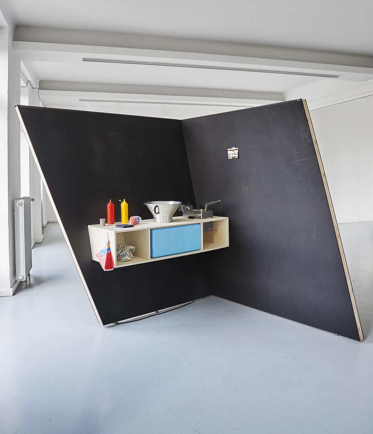 Pio Rahner, Fettecke, 2011, kein wort zu viel, Kunstverein Ettlingen, Folkwang, Muller, Lipps, tien phan, Taleb, Sturm, Nadeno, Kölmel, Barth,